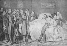 Death of President Lincoln.